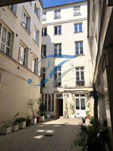 Studio Paris 3ème arrondissement 15.40 m2